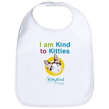 Kitty Kind Blue Eyes Snowshoe Cat Bib