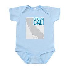 """DIG CAL I""""M FROM CALI Infant Bodysuit"""