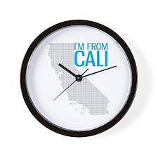 "DIG CAL I""M FROM CALI Wall Clock"