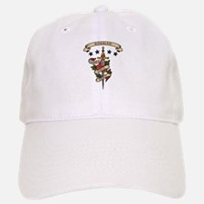 Love Bobsled Baseball Baseball Cap