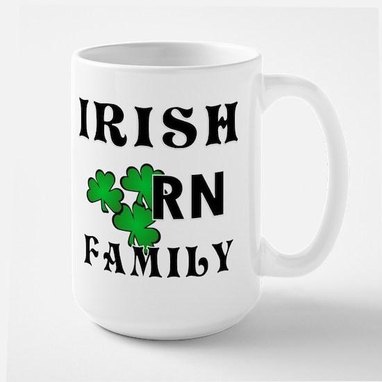 Irish Nurse RN Large Mug