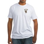 Love Biomedical Engineering Fitted T-Shirt