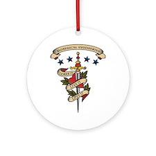 Love Biomedical Engineering Ornament (Round)