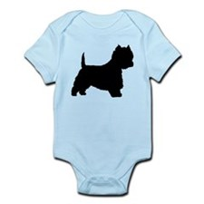 West Highland Terrier Infant Bodysuit