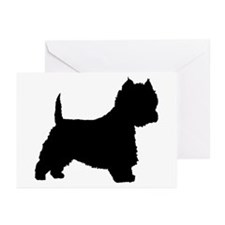 West Highland Terrier Greeting Cards (Pk of 10)