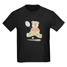 Crayon tennis bear T