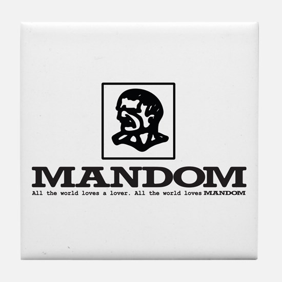 Mandom Tile Coaster
