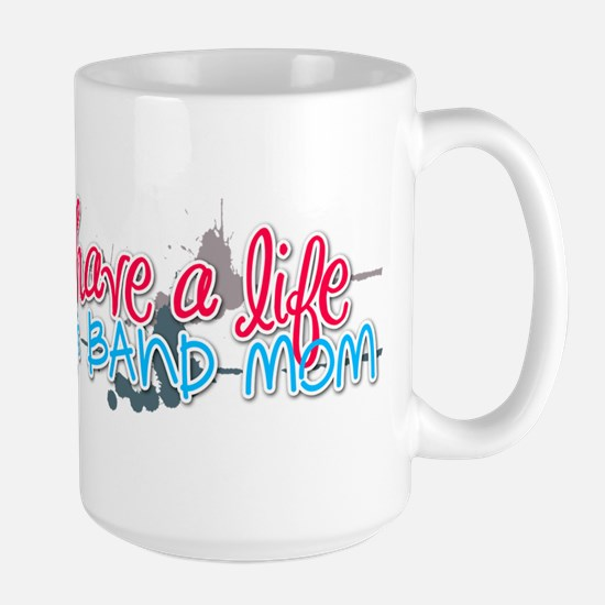 I use to have a life... Large Mug
