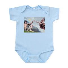 Creation/ Keeshond Infant Bodysuit
