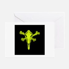 Halloween Horse Skull Greeting Card
