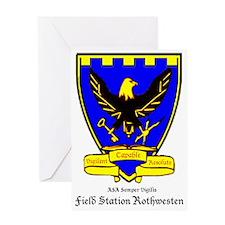 Field Station Rothwesten Greeting Card