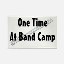 Band Camp Rectangle Magnet