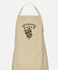 Love Backgammon BBQ Apron