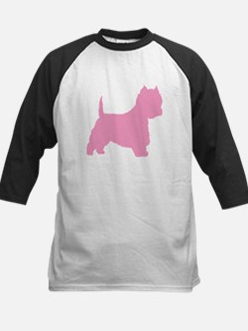 Pink Westie Dog Tee