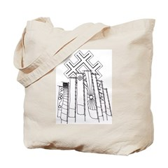 Japanese Banners Tote Bag