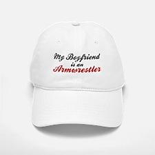 Boyfriend is Armwrestler Baseball Baseball Cap