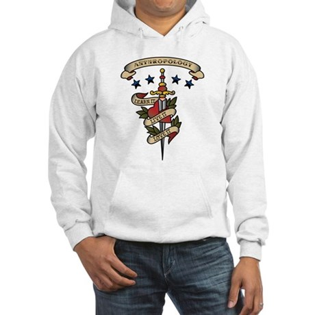Love Anthropology Hooded Sweatshirt