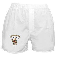 Love Anthropology Boxer Shorts