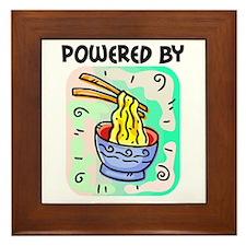Powered by Noodles Framed Tile