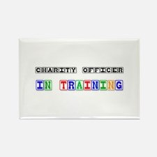 Charity Officer In Training Rectangle Magnet