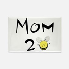 Mom2bee Rectangle Magnet
