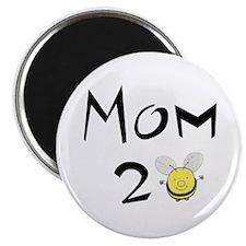 "Mom2bee 2.25"" Magnet (10 pack)"