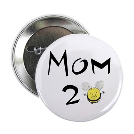 """Mom2bee 2.25"""" Button"""