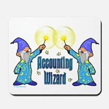 Accounting Wizard - Mousepad
