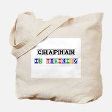 Chapman In Training Tote Bag