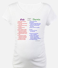 God and Darwin Compared and contrasted Shirt