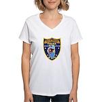 Oregon Illinois Police Women's V-Neck T-Shirt