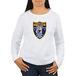Oregon Illinois Police Women's Long Sleeve T-Shirt