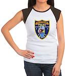 Oregon Illinois Police Women's Cap Sleeve T-Shirt