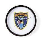 Oregon Illinois Police Wall Clock