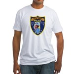 Oregon Illinois Police Fitted T-Shirt