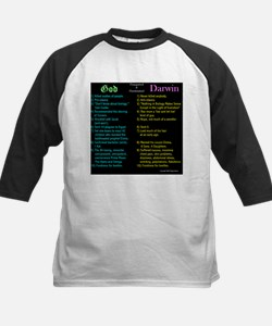 God and Darwin Compared and contrasted Tee