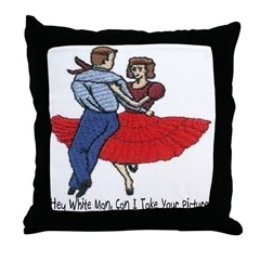 Can I Take Your Picture? Throw Pillow