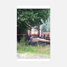Train On a Bridge, N.S. RR Rectangle Decal