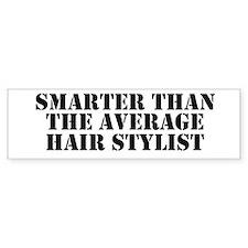 Average hair stylist Bumper Bumper Sticker