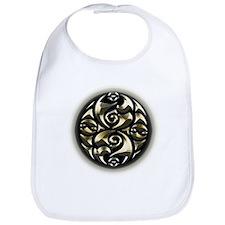 Golden Celtic Knot. Bib