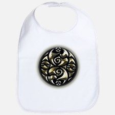 Golden Celtic Knot. Bib
