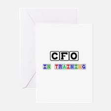 Cfo In Training Greeting Cards (Pk of 10)