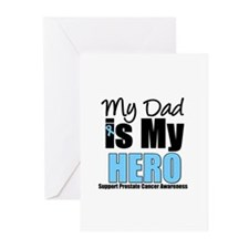 Prostate Cancer Hero Greeting Cards (Pk of 10)