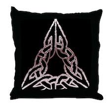 Trinitarian Celtic Knot Throw Pillow