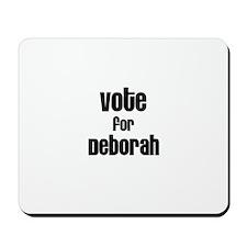 Vote for Deborah Mousepad