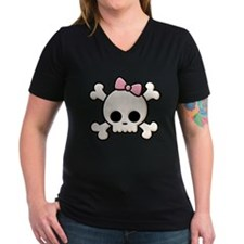Cute Skull Girl Shirt