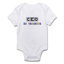 Ceo In Training Infant Bodysuit
