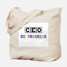 Ceo In Training Tote Bag
