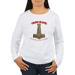 VIKING BLOOD Women's Long Sleeve T-Shirt
