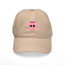 Funny Pink Skull Baseball Baseball Cap
